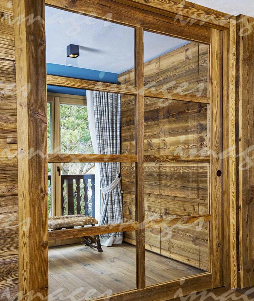Contemporaneità design e legno antico